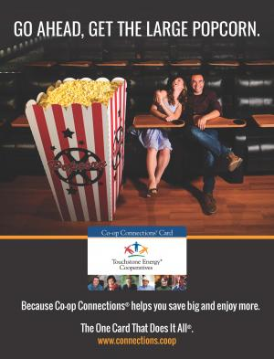 Co-op Connections Ad Popcorn